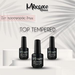 Σετ Top Tempered Mixcoco Παχύρρευστο 3τμχ