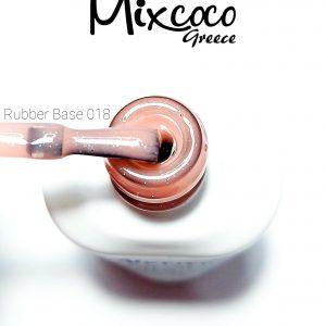 Rubber Base 18 (Βάση Καουτσούκ) Mixcoco 15ml