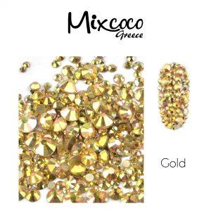 Multi Strass 1440τμχ Gold