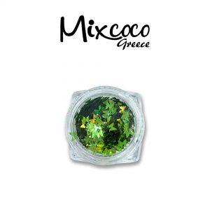 Διακοσμητικές πεταλούδες ιριδίζον πράσινο