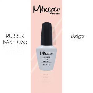 Rubber Base 35 Beige Mixcoco 15ml