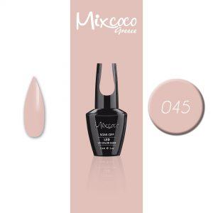 045 Ημιμόνιμο Βερνίκι Mixcoco 15ml (Ημιμόνιμα Βερνίκια)