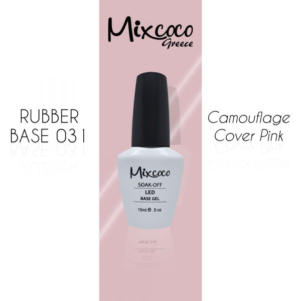 Rubber Base 031 Cover Pink Mixcoco