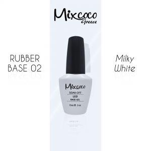 Rubber Base 02 Milky White Mixcoco